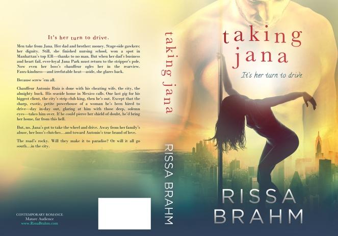 Taking Jana - Final Print Cover